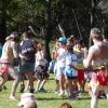 Tribal dancing at Appin Massacre Memorial, 2013