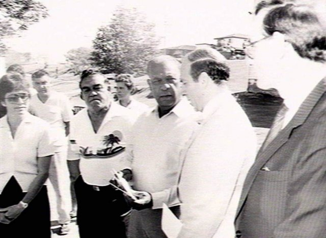 Ray Kelly and others at La Perouse - 1960s