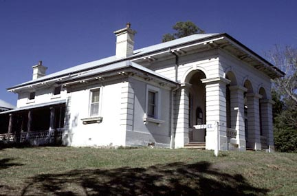 Paterson Court House built 1857