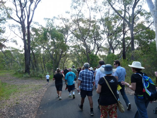 Appin Massacre Memorial Walk, 2013