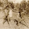 """Aborigines of the Port Stephens area"" 1900. Newcastle Region Library"
