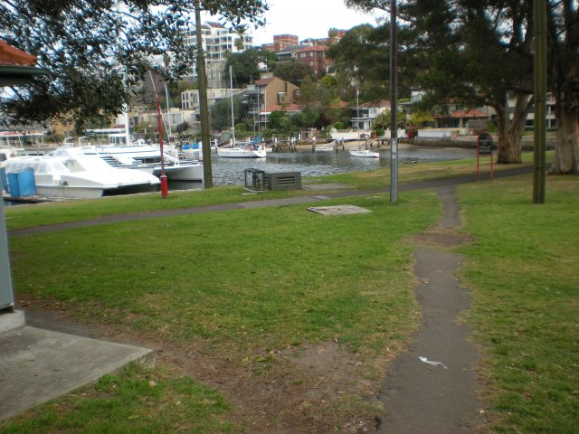 Anderson Park, Neutral Bay, once the site of a ceremonial ground