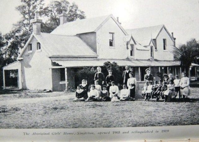 Aboriginal Girls Home, Singleton c1906