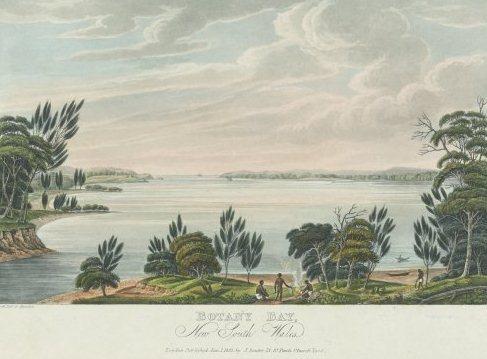 Botany Bay - courtesy of National Library of Australia.
