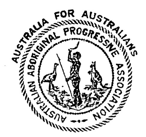 Australian Aboriginal Progressive Association (AAPA) logo, 1924