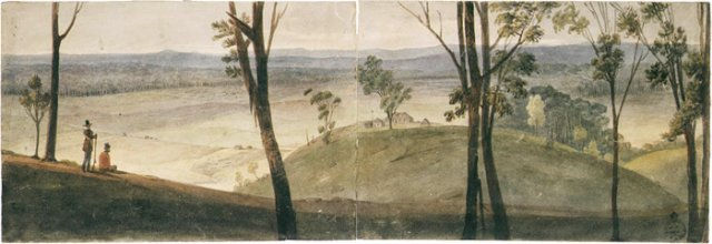 J.Hassall Farm, Cow Pasturers 1825 NSW State Library