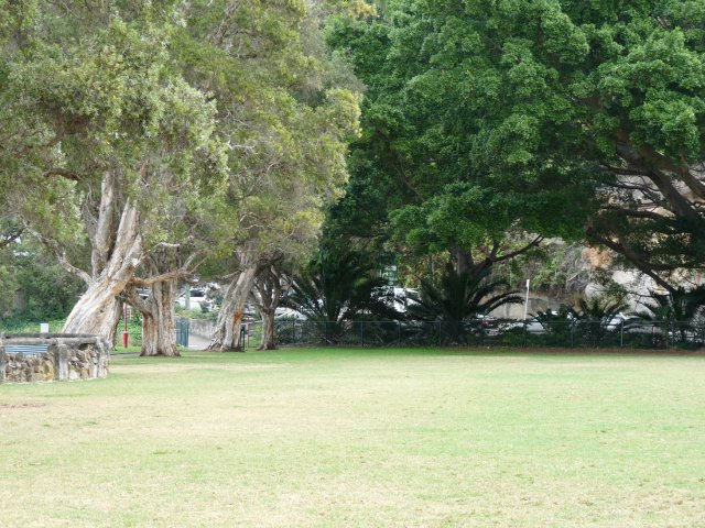 Anderson Park, once a popular camping site