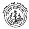 Australian Aboriginal Progressive Association (AAPA) logo, 1924.