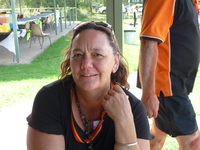 Jodi Cameron at Appin massacre commemoration