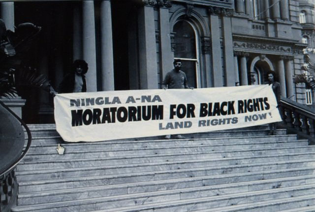 Black Rights sign