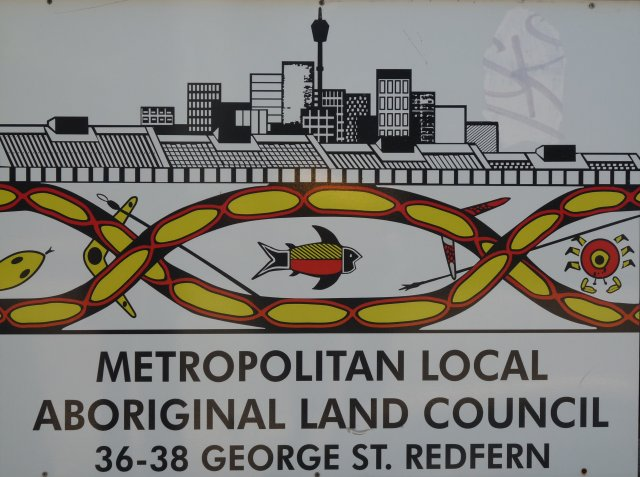 Metropolitan Local Aboriginal Land Council sign