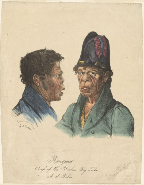 Bungaree, Augustus Earle Courtesy of The National Library of Australia