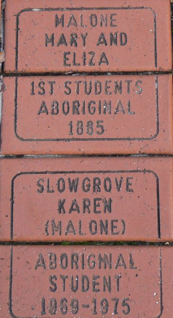 Karen Maber's descendants. Sans Souci Public School 125 year Anniversary pavers in 2010