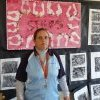 Sharon Simms in art room at La Perouse