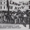 Land rights demonstration