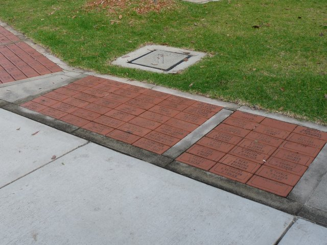 Sans Souci Public School 125 year anniversary pavers in 2010