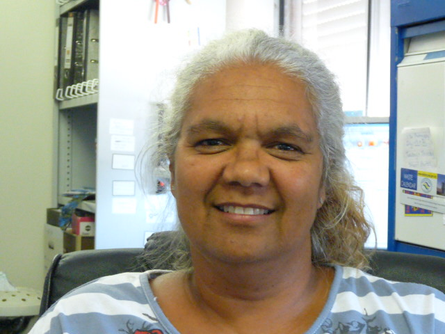 Donna Daley at Gujaga Multi Functional Aboriginal Children Services