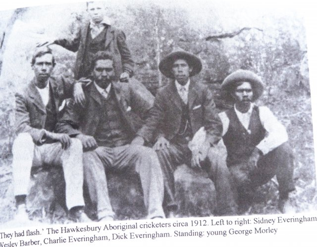 Barber Brothers : Everingham and Barber brothers, Aboriginal cricketers from the ...
